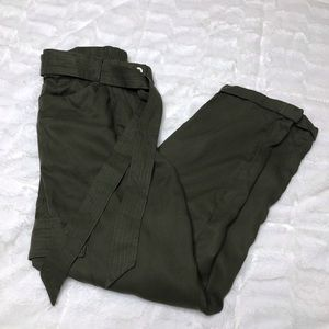 Chico's Olive Green Trousers